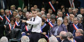 Le président a lancé le Grand débat mardi 15 janvier à Grand Bourgtheroulde (Eure).