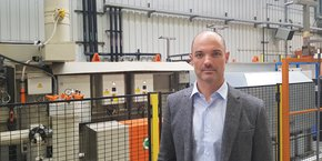 Le président de l'entreprise ariégeoise Recaero, Nicolas Pobeau, veut développer s'implanter aux États-Unis d'ici un à deux ans.
