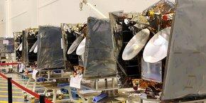 La France a envisagé la reprise de OneWeb, sachant que Airbus et Arianespace sont impliqués dans ce projet de constellation, selon le général Michel Friedling, commandant du commandement de l'espace