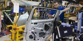 Le ralentissement est particulièrement visible dans l'industrie.