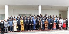 L'ouverture du dialogue politique a été présidée par le premier ministre Gon Coulibaly, en présence des représentants des partis du pouvoir et de l'opposition.