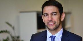 Benoît Roig, nouveau président de l'Université de Nîmes.