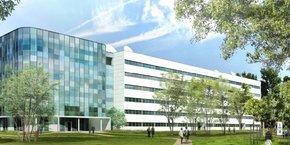 Baptisé K2, le nouveau bâtiment de 14 000 m2 accueillera 680 postes de travail.