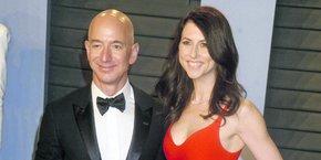Jeff et MacKenzie Bezos. Le divorce du couple pourrait avoir un impact sur l'avenir d'Amazon.