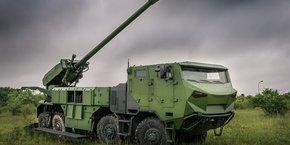 Le système d'artillerie Caesar est l'un des best-sellers de Nexter à l'exportation