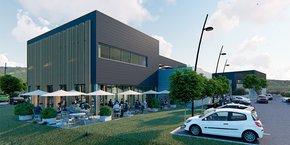 Les nouveaux locaux rassembleront, d'ici 2021, toutes les activités de l'ESAT sur un bâti de 1 800 m2