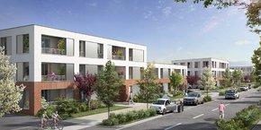 Vinci Immobilier commercialise Nuances, un nouveau village urbain au sud de Toulouse.