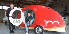 Laura Ballario et son père André ont créé Hundred Miles, une entreprise de mini-caravanes à l'américaine fabriquées à Albi.