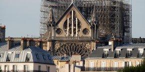 La cathédrale Notre-Dame a été ravagée par un incendie le lundi 15 avril.