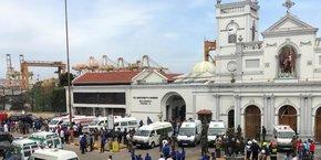 Le président sri-lankais Maithripala Sirisena s'est dit choqué par les explosions dans les églises et les hôtels
