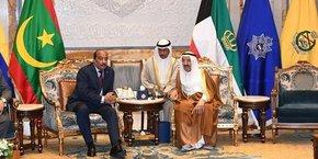 Le président mauritanien Mohamed Ould Abdel Aziz était en visite officielle à Koweït-city ce mardi 23 avril.