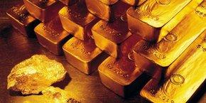En décembre 2018, le prix de l'once d'or sur le marché mondial s'établissait à 1 250 dollars.