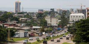 Vue de Libreville, la capitale gabonaise.