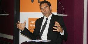 Fabrice Lorente était en poste depuis 2012