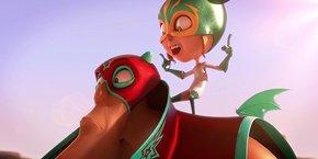 La série Vlad et Louise, proposé par In Efecto et narrant l'histoire d'une petite fille dans l'univers coloré de la lucha libre mexicaine, intéresse un important diffuseur.