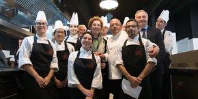 Thierry Marx a inauguré sa nouvelle école Cuisine mode d'emploi(s) au sein du Min de Toulouse.