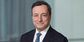 Mario Draghi, le président de la BCE, dont le mandat arrive à échéance le 31 octobre 2019.