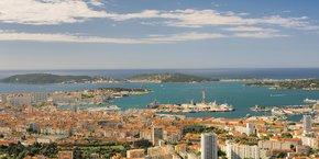 Le renouveau de la métropole Toulon Provence Méditerranée est notamment bénéfique en matière d'emplois.