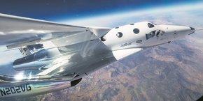 Virgin Galactic compte embarquer des touristes à bord du SpaceShipTwo pour des vols suborbitaux dans un futur proche.