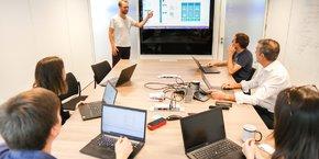 Bleckwen est une spin-off de l'ETI française Ercom, spécialisée dans la cybersécurité pour les gouvernements et dont l'activité principale a été rachetée en janvier dernier par Thales.
