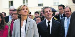 Valérie Pécresse, présidente de la Région Ile-de-France, et Nicolas Sarkozy critiquent la gouvernance du projet d'Emmanuel Macron.