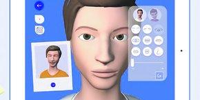 Destinée aux autistes, l'application reproduit déjà six expressions.