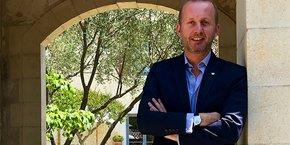 Emmanuel Blanchemanche vient d'être nommé directeur général du Domaine de Verchant.