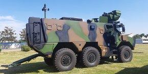 Il nous faut être en capacité de surclasser un adversaire symétrique. La réponse à ce défi est le programme Scorpion, estime le nouveau chef d'état-major de l'armée de Terre, le général Burkhard (Photo du nouveau véhicule blindé Griffon composant une partie du programme Scorpion).