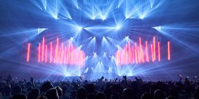 S Group est l'un des 4 premiers fournisseurs français de solutions techniques pour les tournées d'artistes
