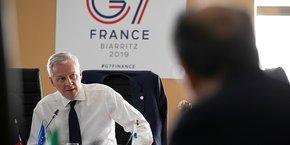 Un accord au niveau du G7 est décisif. Si nous ne trouvons pas d'accord au niveau du G7 sur les grands principes de la taxation du digital aujourd'hui ou demain, très franchement ça sera compliqué de trouver un accord entre les 129 pays membres de l'OCDE, a prévenu Bruno Le Maire.