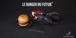Par rapport à un burger classique, ce burger végétal génère 10 fois moins d'émissions de gaz à effet de serre, pour un apport de protéines quasiment identique, note le PDG de FoodChéri, Patrick Asdaghi.