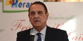Kléber Mesquida, président du Conseil départemental de l'Hérault.
