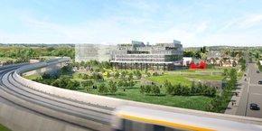 Le campus de l'IOT Valley doit accueillir 1200 personnes dès fin 2021.