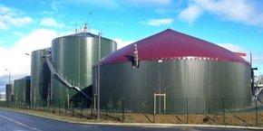 L'unité de biogaz du Grand Auch, réalisée par Naskeo Environnement