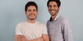 Angelo Blot et Jérôme Barthès, cofondateurs de la start-up Lono