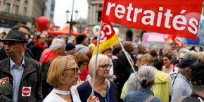 Illustration (2018). Le gouvernement veut définir un nouveau système de retraite universel par points, qui fusionnera les 42 régimes existants à l'horizon 2025.