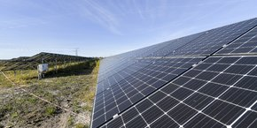 Centrale solaire Merle Sud
