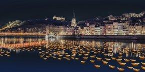 Une rivière de lumières de 20 000 lumignons devrait clôturer l'édition 2019 de la Fête des Lumières