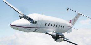 Un des appareils de la compagnie régionale Chalair, qui va relier Quimper à Orly les quatre prochaines années.