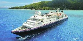 La Belle des Océans, un bateau de 60 cabines, racheté cet été pour 25 millions de dollars.