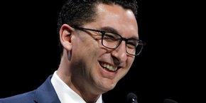 Maxime Saada, le président du directoire de Canal+.