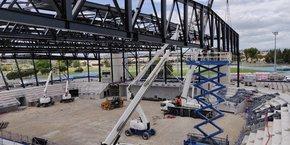 La Scop Cabrol est spécialisée dans la construction de structures métalliques complexes.