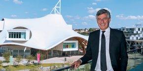 Pour Jean-Luc Bohl (en photo), président de Metz Métropole, le fil conducteur pour Frescaty, c'est le développement durable avec 30 hectares dévolus à l'agriculture périurbaine.