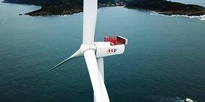 Le projet des Eoliennes flottantes du Golfe du Lion (EFGL) optent pour les éoliennes de MHI Vestas Offshore Wind, d'une capacité de 10 MW.