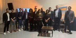 Les lauréats et partenaires du French Tech Tremplin 2019