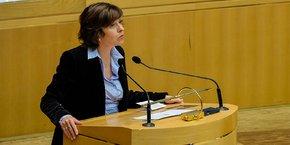 Carole Delga, présidente de la Région Occitanie, s'inquiète de la dégradation des capacités d'autofinancement et d'investissement de la collectivité.