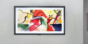 La nouvelle gamme de téléviseurs Gallery de LG transforme l'écran de télévision en tableau quand il est éteint. L'entreprise y affiche des oeuvres d'art pour un abonnement de 4 dollars par mois.