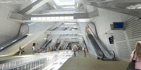 Photo d'illustration. Au-delà des transports, tout l'enjeu du Grand Paris Express est de transformer les gares et les villes qu'il traverse.
