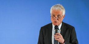 Patrick Bobet, le président de Bordeaux Métropole, le 10 janvier 2020.