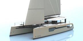 Le modèle de 54 pieds version yachting, que développe Windelo
